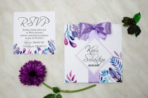 zaproszenie z okazji ślubu
