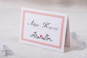 zdjęcie różowego zaproszenia